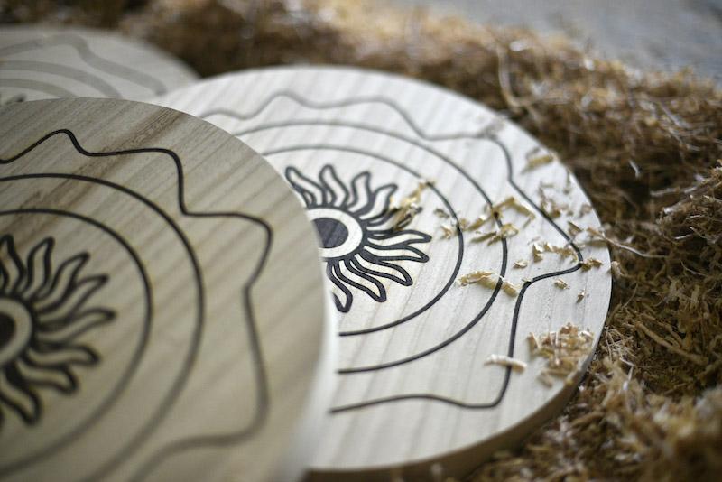 Peza ornamental centro mesa 3