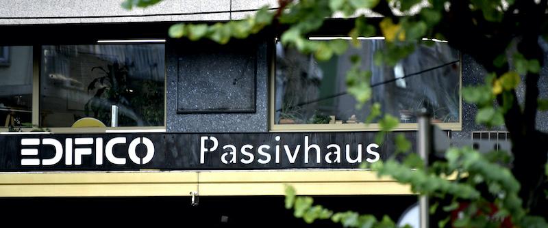 Rótulo Edifico Passivhaus 1