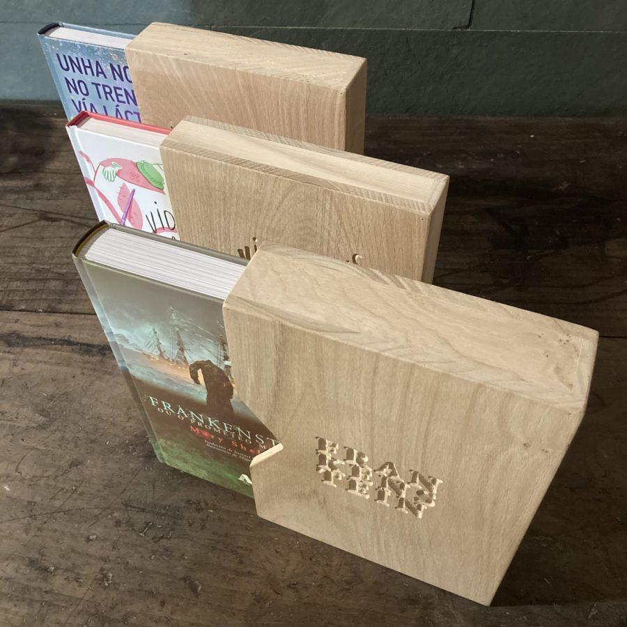 Estuches en madera de castaño