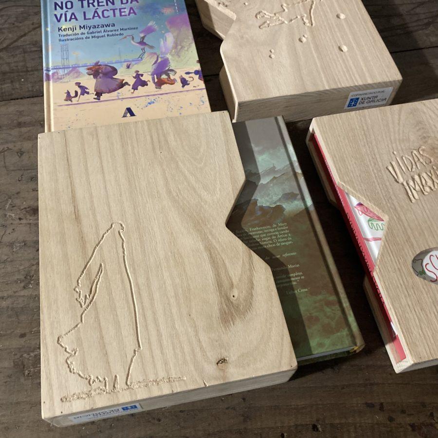 Estoxo en madeira de castiñeiro 3